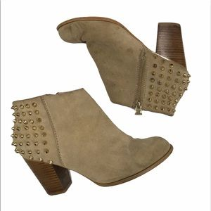 Zara Studded Ankle Boots